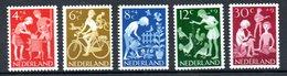 Pays Bas  / Série N 762 à 766 / NEUFS** - Period 1949-1980 (Juliana)