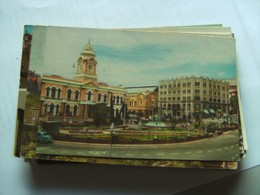 Zuid Afrika South Africa Port Elizabeth Main Street And City Hall - Zuid-Afrika