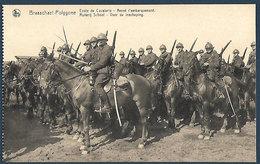 Armée Belge - Brasschaet-Polygone - Ecole De Cavalerie - Avant L'embarquement - Caserme