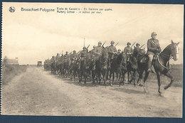 Armée Belge - Brasschaet-Polygone - Ecole De Cavalerie - En Colonne Par Quatre - Caserme