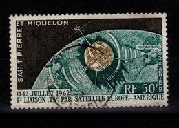 SPM YV PA 29 Oblitere Satelitte Cote 6,10 Euros - Poste Aérienne