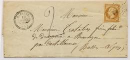 C16-BARREME Taxe  Basses Alpes Indice 16 - Marcophilie (Lettres)