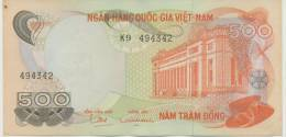 VIETNAM SOUTH P. 28a 500 D 1970   XF - Viêt-Nam