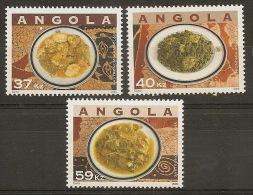 ANGOLA 2008 Traditional Food - Angola