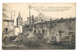 BLANZAT  -- ALAMBIC -DISTILLATION DU MARC-- MR LACOT SUR LA PLACE - Sonstige Gemeinden