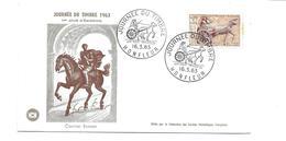 ENVELOPPE Journée Du Timbre à HONFLEUR (14) En 1963.. Courrier Romain - FDC