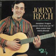 "Johny Rech  ""  Monsieur Aragon  "" - Vinyl Records"