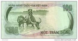 VIETNAM SOUTH P. 31a 100 D 1972 AUNC - Vietnam