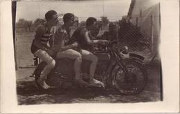 Carte Photo - Moto Side-car Royal Enfield - Motociclismo