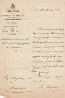 PREFETTURA DI FERRARA - Anno 1878 - Manoscritti