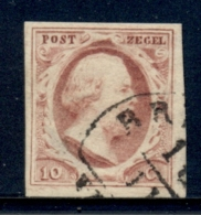 Nederland - 1e Emissie - 10 Cent Willem III - Halfrond Stempel - Periode 1852-1890 (Willem III)