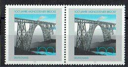 BRD 1997 // Mi. 1931 ** Paar (M.030..476) - Brücken