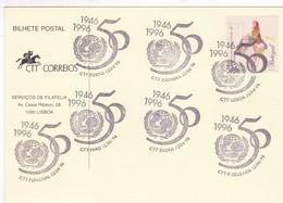 50 ANOS CCT- SPECIAL CARD 1996 PORTO PORTUGAL-BLEUP - 1910-... República