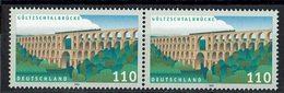 BRD 1999 // Mi. 2082 ** Paar (M.030..478) - Brücken
