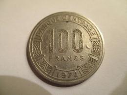 Chad: 100 CFA 1972 - Tchad