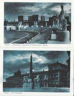 F - Roma (Citta Del Vaticano, Colosseo, Accademia Fascista, Castel, Teatro - Lot De 25 Cartes Cyan Non Circulées - Roma (Rome)
