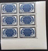Luxembourg-1955  10 Ans Nations-Unies  Charte -Bloc 6 Timbres   Mi 537    Neufs - Ongebruikt