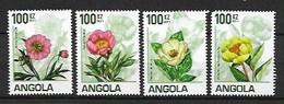 "ANGOLA 2011 PEONIES ""WORLD PHILATELIC EXHIBITION"" CHINA 2011 - Angola"