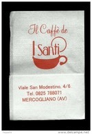 Tovagliolino Da Caffè - I Santi - Mercogliano ( Avellino ) - Tovaglioli Bar-caffè-ristoranti
