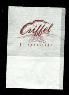 Tovagliolino Da Caffè - Caffè Ecriffel Le Croissant - Serviettes Publicitaires