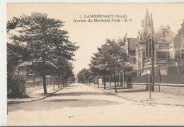 AL 727  /  CP A    LAMBERSART       (59)   AVENUE DU MARECHAL FOCH - Lambersart