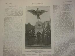 1913 Saint-Cloud  Inauguration  Du Monument   SANTOS-DUMONT - Saint Cloud