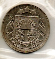 BALTIC:LATVIA#COINS# IN MIXED CONDITION#.( LAT-250CO-1 (04) - Lettonie