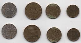 + FRANCE   + SARRE + SERIE 10, 20, 50 Francs 1954,   100 FRANCS 1955 + - Francia