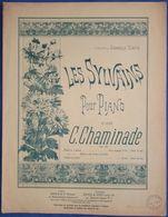 CÉCILE CHAMINADE PIANO GF PARTITION***LES SYLVAINS OPUS 60 GABRIELLE TURPIN 1909 - Musique & Instruments