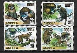 ANGOLA 2011 Monkeys Endangered - Angola