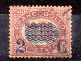 Sello De Italia N ºYvert 32 (o) - 1861-78 Vittorio Emanuele II
