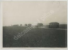 Guerre De 1914-18 . Convoi D'autobus . - War, Military