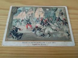 "Postcard ,""Bataille De FROESCHWILLER (6 Aout 1870) Reprise De Woerth"", - Other Wars"