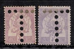 Tunisie Taxe Maury N° 8 Deux Timbres Neufs (*) Avec Belles Nuances. Signés. B/TB. A Saisir! - Tunisia (1888-1955)