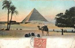 Poste Navale - Cachet Du Paquebot FR N° 4 - Ligne N En 1906 En Egypte Sur Timbre Des Colonies Françaises Port Said - Marcophilie (Lettres)