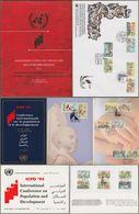 """Ägypten + UNO: Gedenkheft, Dokumendtationsmappe Zu:  """" Konferenz über Bevölkerung Und Entwicklung Kairo 1994 """"    X - Ägypten"""