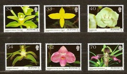 Jersey 2004 Yvertn° 1156-1161 *** MNH Cote 15 Euro Flore Fleurs Bloemen Flowers - Jersey