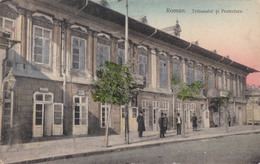 ROMAN : TRIBUNALUL / THE COURT HOUSE / LE TRIBUNAL ~ 1910 (aa166) - Rumänien