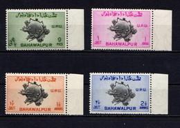 PAKISTAN  BAHAWALPUR    1949    75th  Anniv  Of  U P U   Set  Of  4    MNH - Pakistan