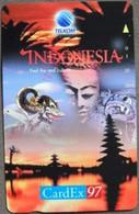Indonesia - P-552, Cardex '97 Brussels, Tamura, 1,000ex, 10/97, Mint - Indonesia