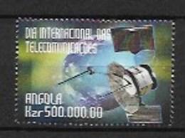 ANGOLA  1999  International Telecommunication Day - Angola