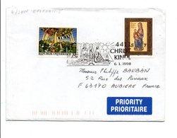 AUTRICHE OBLITERATION DE CHRISTKINDL SUR LETTRE 1998 - Christmas