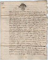 VP13.307 - Cachet Généralité De POITIERS - Acte De 1768 à Déchiffrer - Cachets Généralité