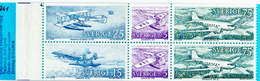 Sweden MNH Booklet - Airplanes
