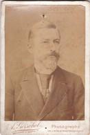 VINTAGE PORTRAIT OF A MAN. A GERSCHEL, PARIS CIRCA 1880s PHOTO ORIGINAL SIZE 11x16cm-BLEUP - Photos