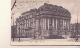 CPA - CALAIS Théâtre Municipal - Calais