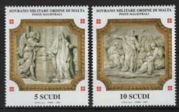 SMOM 2004 Sass.765/66 MNH/** VF - Malte (Ordre De)