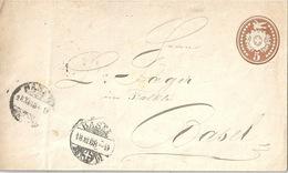 Lokaler Tübli Brief 4  Basel          1868 - Interi Postali