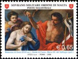 SMOM 2006 Sass.831 MNH/** VF - Sovrano Militare Ordine Di Malta