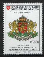 SMOM 2007 Sass.869 MNH/** VF - Sovrano Militare Ordine Di Malta
